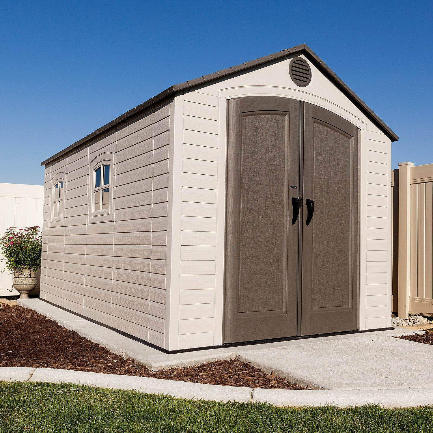 Lifetime 8x12.5-Ft. Outdoor Storage Shed from $998 + free ...