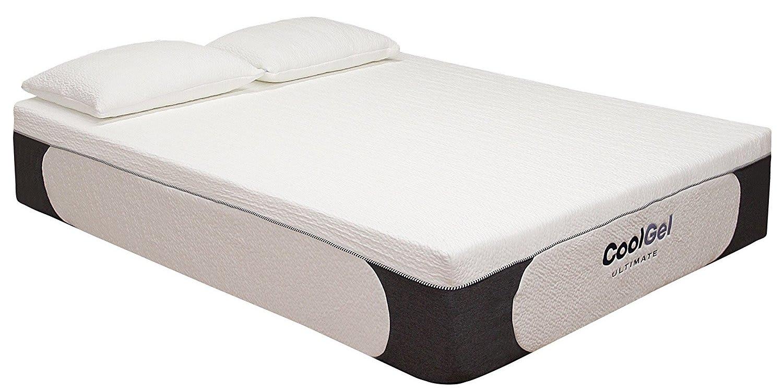 "Classic Brands 14"" Memory Foam Queen Mattress for $247 + free shipping"