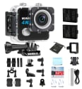 WIMIUS L1 4K WiFi Action Camera Kit for $63 + free shipping
