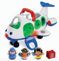 Fisher-Price Lil' Movers Airplane for $10 + pickup at Walmart