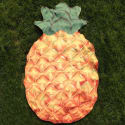 Pineapple Shaped Polyester Beach Throw for $4 + $2 s&h