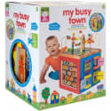 Alex Toys My Busy Town Wooden Activity Cube for $43 + free shipping