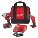 Milwaukee M18 18V Cordless Impact Driver Kit for $99 + free shipping