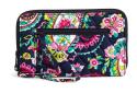 Vera Bradley Zip-Around Wallet for $14 + free shipping
