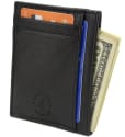 Hammer Anvil Men's Leather Anti-Theft Wallet for $8 + free shipping