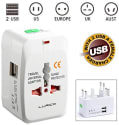 Lurico Dual USB Charging Travel Adapter Plug for $7 + free shipping