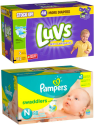 Luvs & Pampers at Jet.com: Buy 2, get 20% off + free shipping w/ $35