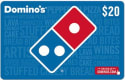 $20 Domino's Gift Card for $18