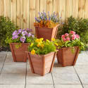 Cedar Wood Planter Box 4-Pack for $80 + free shipping