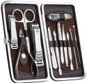 12-Piece Manicure / Pedicure Set for $6 + free shipping