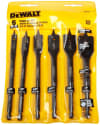 DeWalt 6-Piece Spade Drill Bit Set for $7 w/ $25 purchase + free shipping w/ Prime