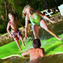 Rubber Dockie 18- x 6-Foot Floating Water Pad for $380 + free shipping