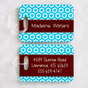 Her Design Personalized Luggage Tag Set for $13 + $6 s&h