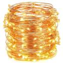 Oak Leaf 10-Foot 30-LED String Lights 2-Pack for $4 + free shipping w/ Prime