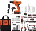 Black+Decker 20V Drill w/ 128-Piece Kit for $74 + free shipping