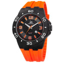 Joshua & Sons Men's Silicone Strap Watch for $30 + free shipping
