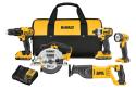 DeWalt 20V Max 5-Tool Cordless Combo Kit for $299 + free shipping