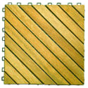 Premium Plantation Teak Tile 10-Pack for $47 + free shipping