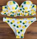 Women's Strapless Push-Up Bikini Set for $15 + free shipping