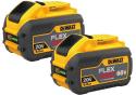 DeWalt 60V Max Flexvolt 9.0Ah Battery 2-Pack for $249 + free shipping