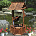 Stonegate Designs Wishing Well with Fountain for $59 + Northern Tool pickup