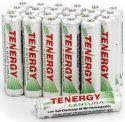 Tenergy Rechargeable AAA Battery 24-Pack for $20 + free shipping