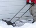 Wheeled Snow Shovel Pusher for $30 + free shipping