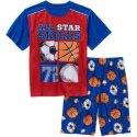 Faded Glory Boys' Shirt & Shorts Pajama Set for $4 + pickup at Walmart