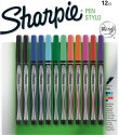 Sharpie Fine Point Pen Stylo 12-Pack for $10 + free shipping w/ Prime