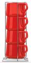 Dansk Kobenstyle 4-Piece Teacup Set for $12 + $7 s&h