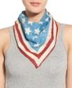 Steve Madden Women's Stars & Stripes Scarf for $19 + free shipping