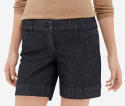 The Limited Women's Chambray Tailored Shorts for $12 + $9 s&h