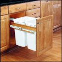 "Rev-A-Shelf 18"" Base Cabinet Trash Pull Out for $95 + free shipping"