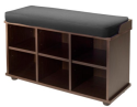 Winsome Wood Townsend Bench with Cushion Seat for $93 + free shipping