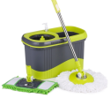 iKayaa Press Type Rolling Magic Spin Mop Set for $22 + free shipping