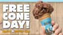 Upcoming: Ben & Jerry's Ice Cream Cone free