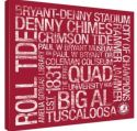 NCAA Vintage-Inspired Canvas Subway Print for $55 + free shipping