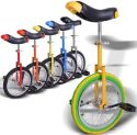 """Yescom Kids' 16"""" Unicycle for $38 + free shipping"""