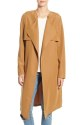 Leith Drape Trench Coat for $59 + free shipping