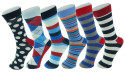 6 Pairs Alpine Swiss Men's Cotton Dress Socks for $8 + free shipping