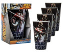 Star Wars 16-oz. Pint Glass 4-Pack for $15 + free shipping