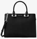 Michael Kors Quinn Saffiano Leather Satchel for $198 + free shipping
