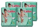 Cuties Baby Diapers Size 5 27-Count 4-Pack for $11 w/ Prime + free shipping