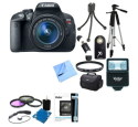 Canon Rebel T5i 18MP DSLR Bundle for $599 + free shipping