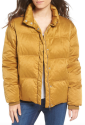 Topshop Women's Emily Puffer Jacket for $53 + $8 s&h
