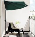 Yescom 10-Foot Aluminum Patio Half Umbrella for $37 + free shipping