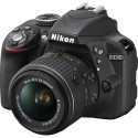 Refurb Nikon D3300 24MP DSLR w/ 18-55mm Lens for $319 + free shipping
