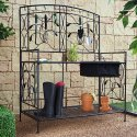 Coral Coast Willow Creek Metal Potting Bench for $142 + free shipping