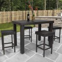 Best Choice Products 5-Piece High Dining Set for $200 + free shipping