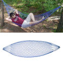 Portable Nylon Rope Hammock with Carrying Bag for $6 + free shipping